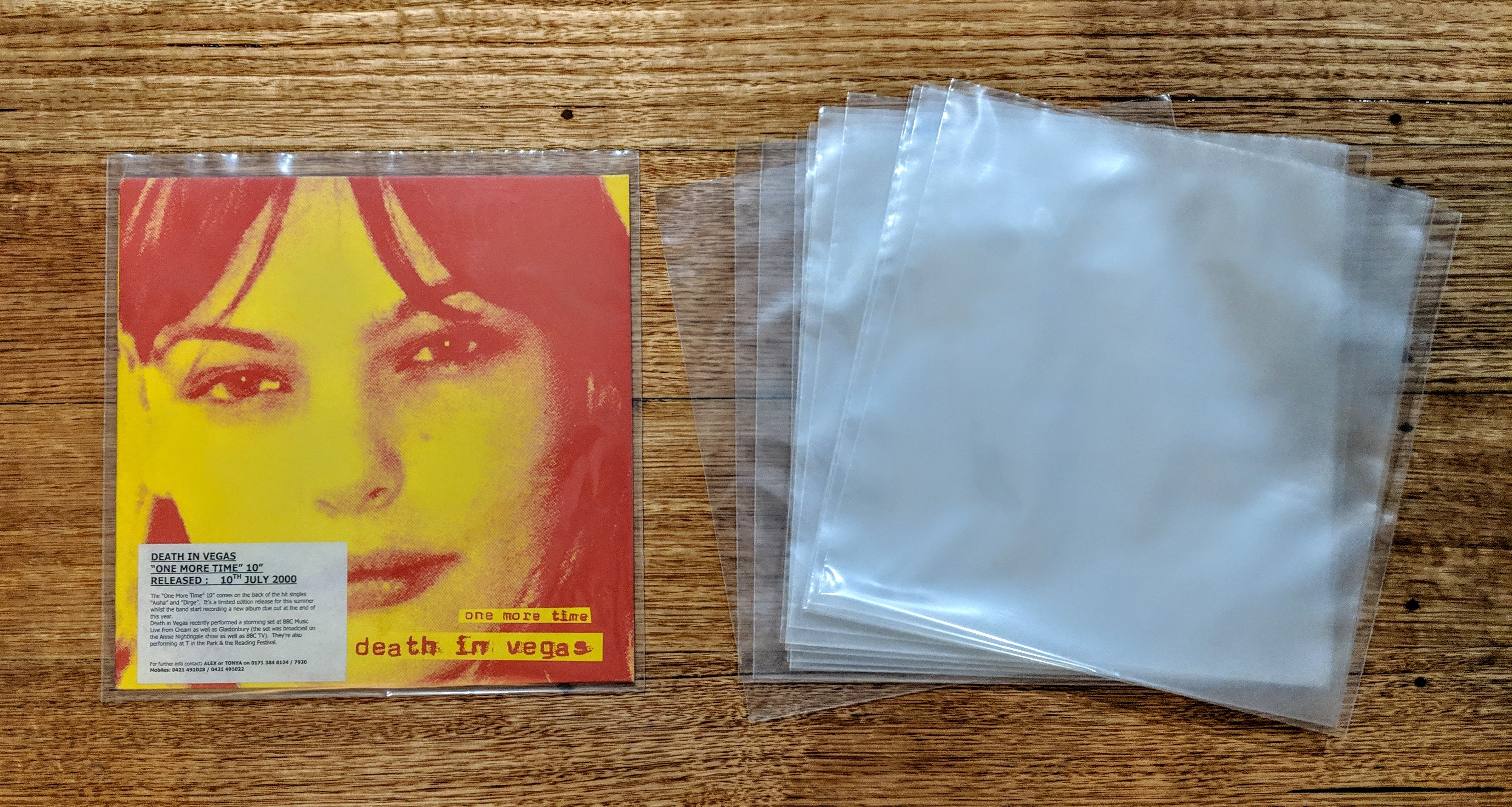 10 inch sleeves 2