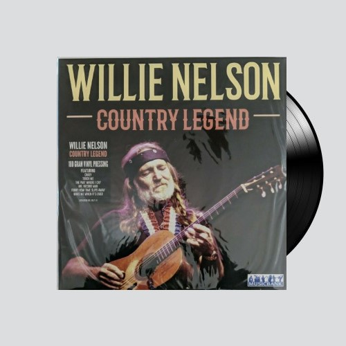 Willie Nelson Country Legend Lp