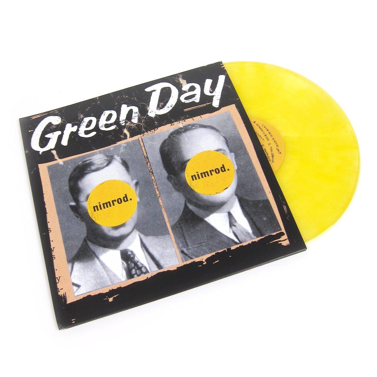 Greenday Nimrod 20th anniversary lp 3