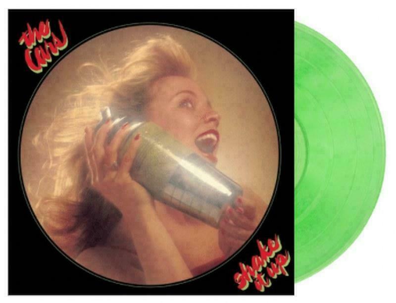 The Cars Shake It Up Green Vinyl