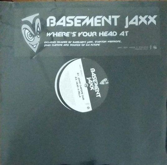 BASEMENT-JAXX-Wheres-Your-Head-At-Double-Vinyl-Lp-Record-Sealed-2001-Promo-272709091662