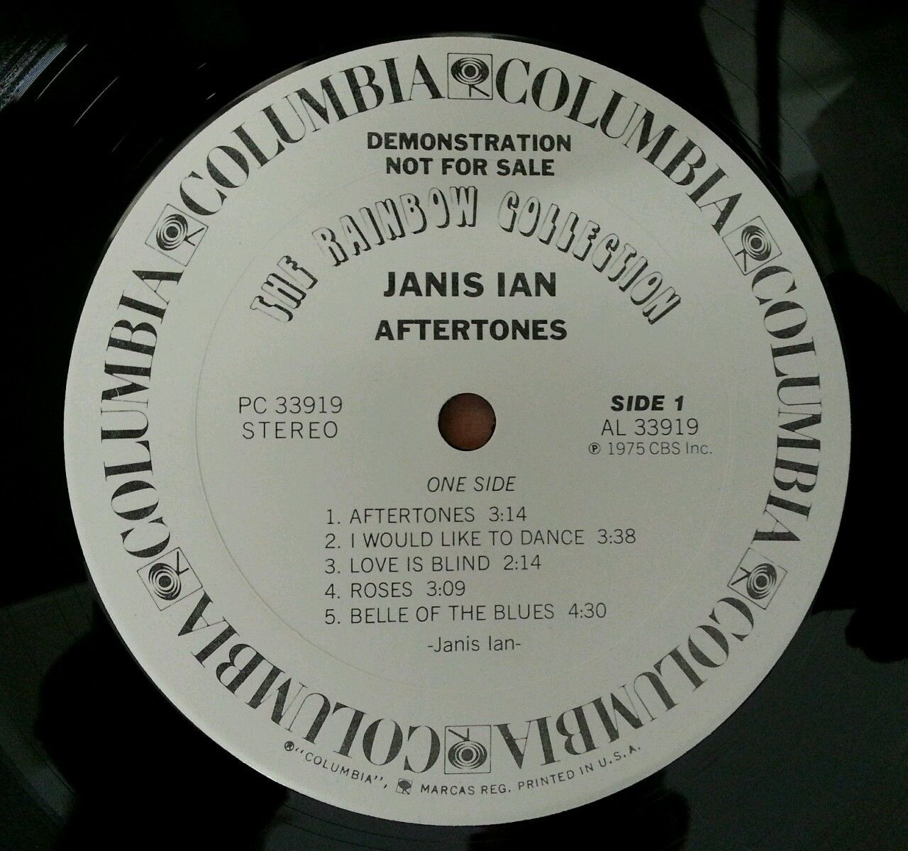 JANIS-IAN-Aftertones-Vinyl-Lp-Record-DEMO-Made-In-USA-White-Label-NMNM-281719601042-3