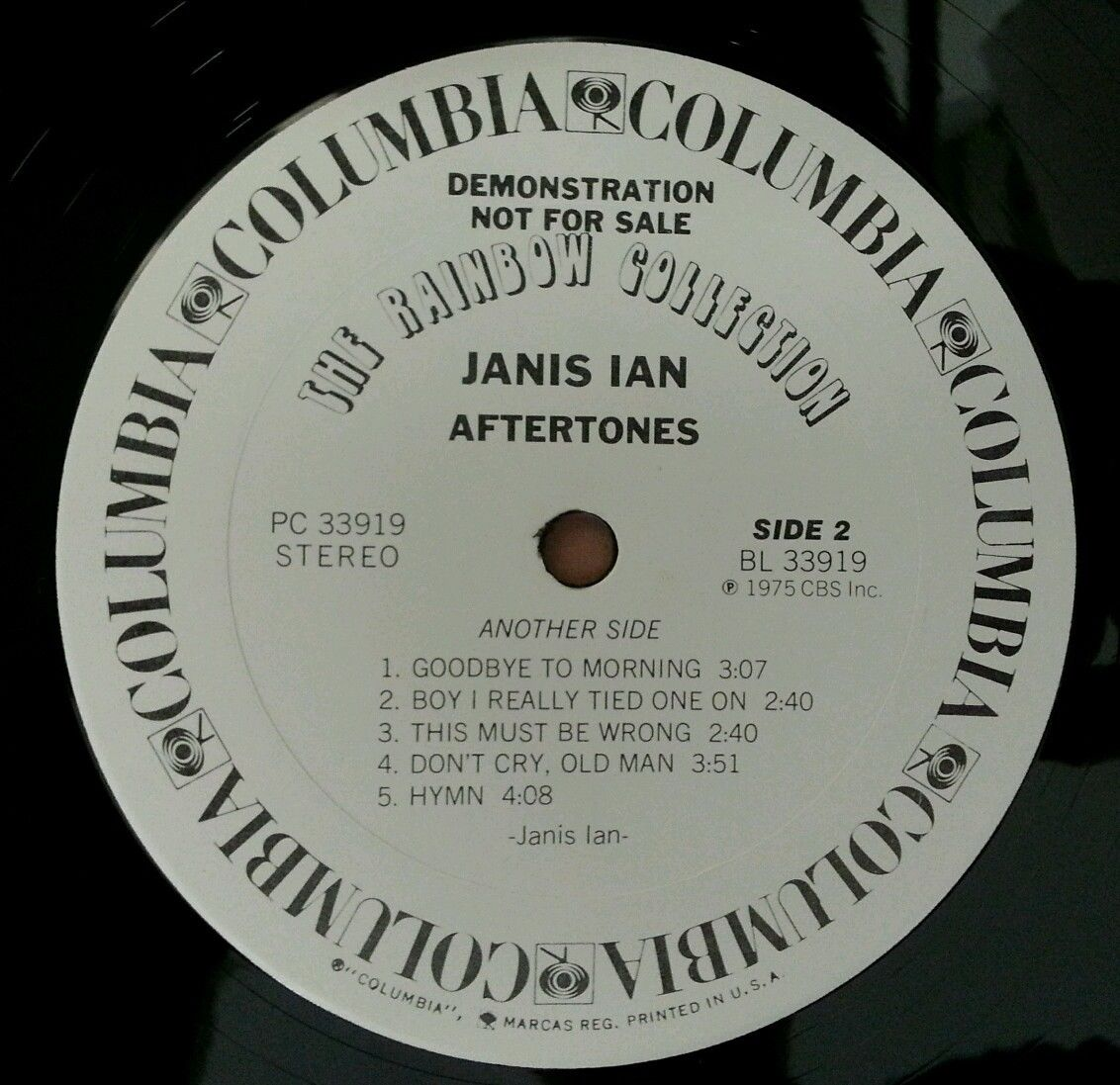 JANIS-IAN-Aftertones-Vinyl-Lp-Record-DEMO-Made-In-USA-White-Label-NMNM-281719601042-4