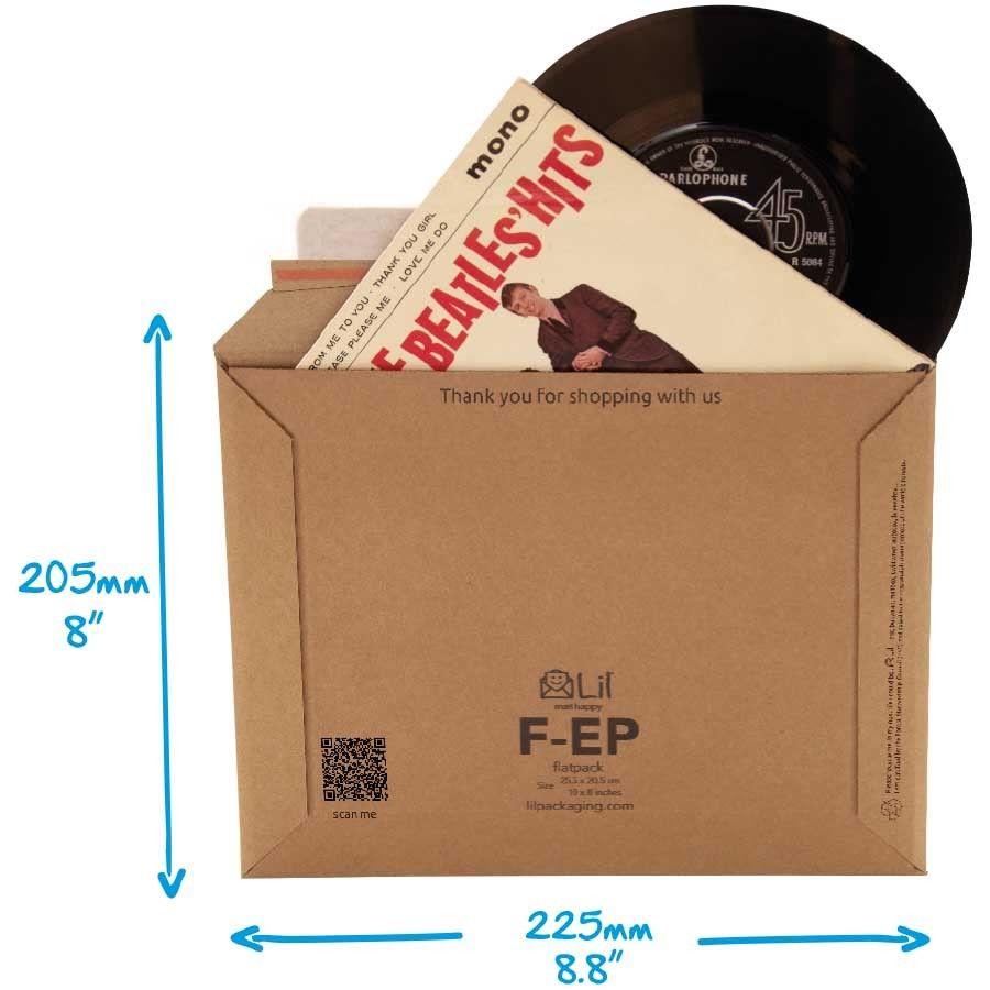 40x-Stiff-Strong-7-Vinyl-EPSingle-Record-45RPM-Music-Postal-Mailer-225-x-205mm-283155832835