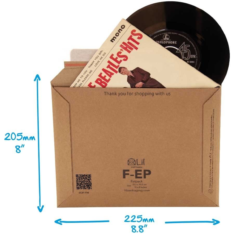 10x-Stiff-Strong-7-Vinyl-EPSingle-Record-45RPM-Music-Postal-Mailer-225-x-205mm-272671818099